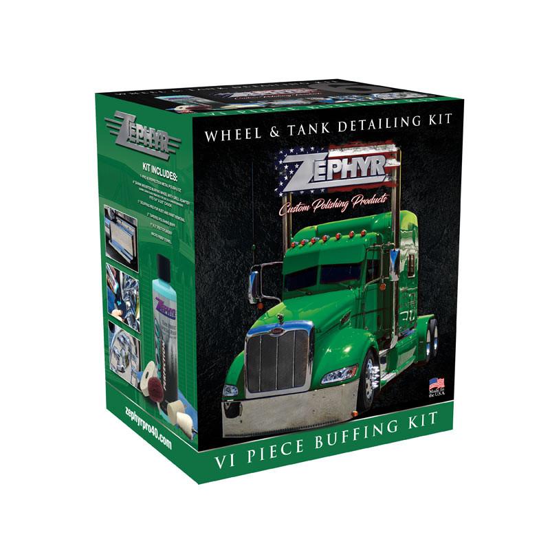 Zephyr Wheel & Tank Detailing 6 Piece Kit
