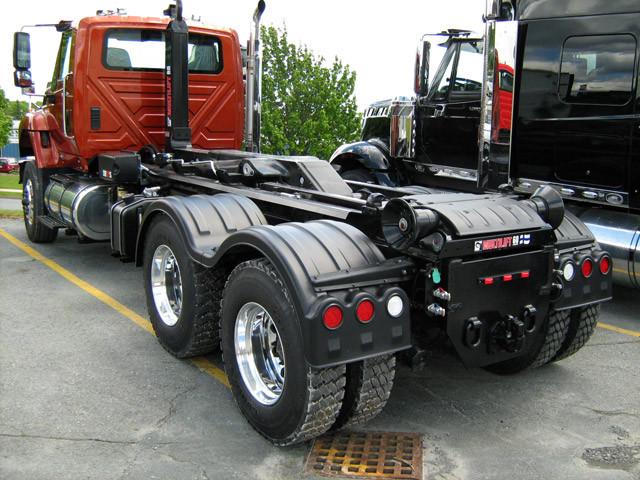 Minimizer Poly Fenders : Minimizer double deuce poly truck fenders tandem axle