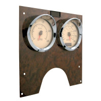 International Chrome Speed/Tachometer Gauge Cover Side View