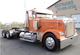 Freightliner Cabover FLD Chrome Bumper Right Side