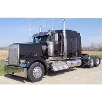 Kenworth W900L Chrome Bumper
