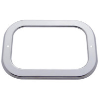 Rectangular Stainless Steel Bezel