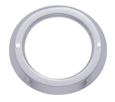 """2"""" Round Stainless Steel Bezel"""