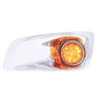 Kenworth T660 Front Bumper Daytime Running LED Light & Bezel