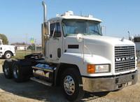 "Mack CH 613 16"" Chrome Bumper Set Back Axle By Valley Chrome"