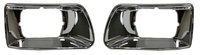 Kenworth T300 Chrome Headlight Bezel Trim Headlamp Bucket 1994-2010