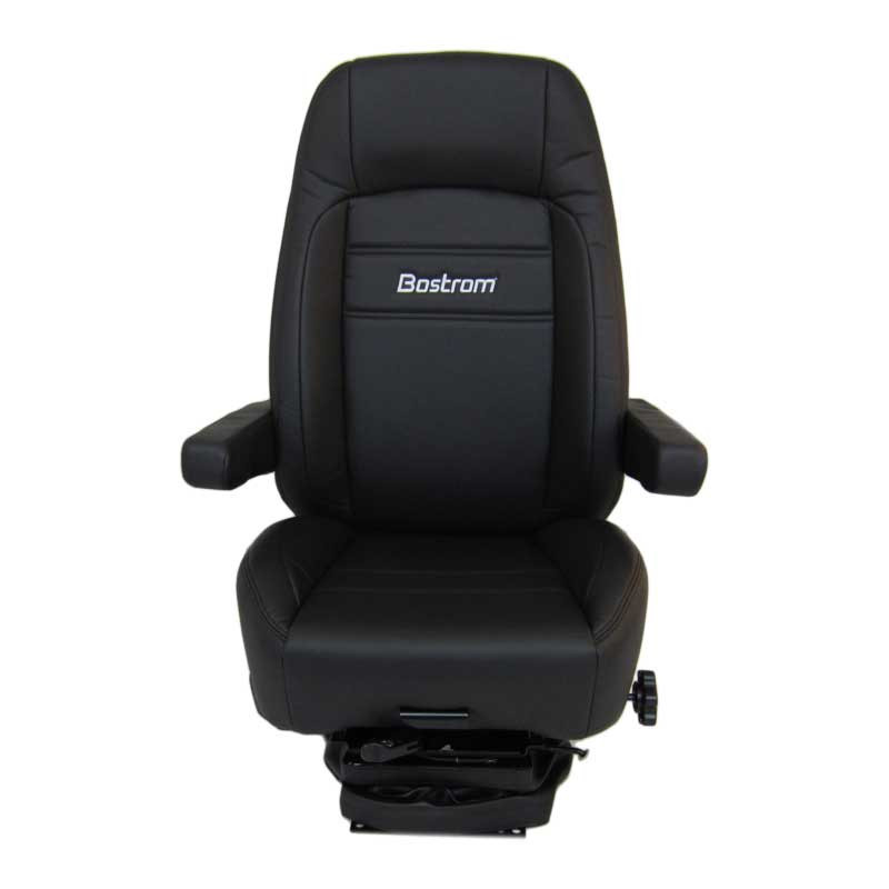 Low Profile Pro Ride Bostrom Seat Ultra Leather Black