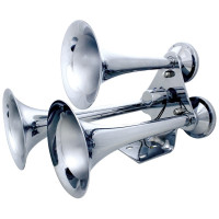 Chrome 3 Trumpet Competition Series Train Horn