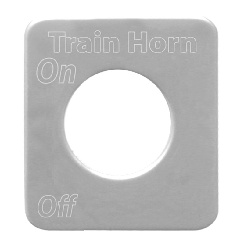 Kenworth Stainless Steel Train Horn Switch Plate By Grand General