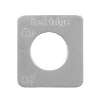Kenworth Stainless Steel Refridge Switch Plate