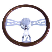 "Freightliner 18"" Flame Steering Wheel"