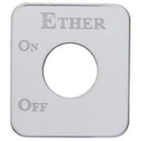 Kenworth Stainless Steel Ether Switch Plate