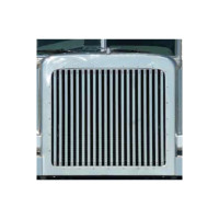 Peterbilt 388 389 Grill with Vertical Bars Stainless