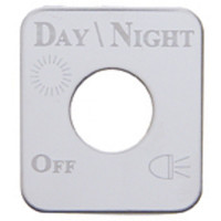 Kenworth Stainless Steel Day/Night Signal Switch Plate
