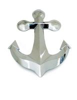 Chrome Plated Plastic Anchor Cutout
