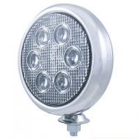 Chrome High Power Round LED Work Light