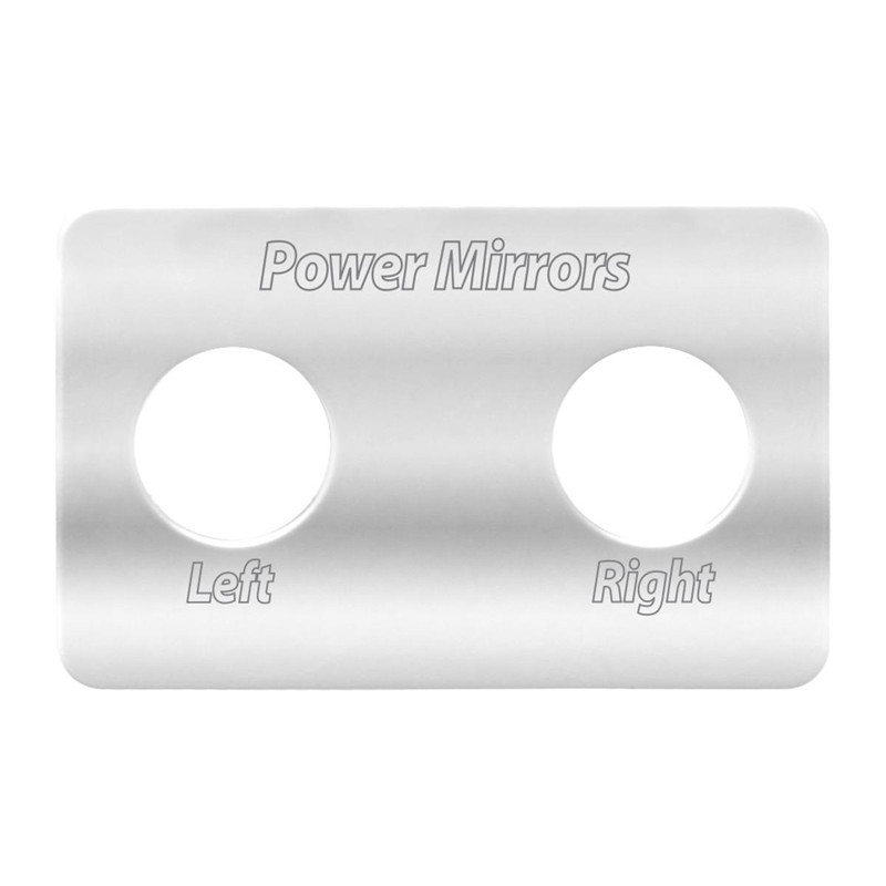 Freightliner Stainless Steel Switch Plates By Grand General Power Mirrors