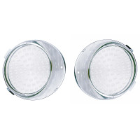 Freightliner Century Daytime Running Light Clear Lens Both Sides