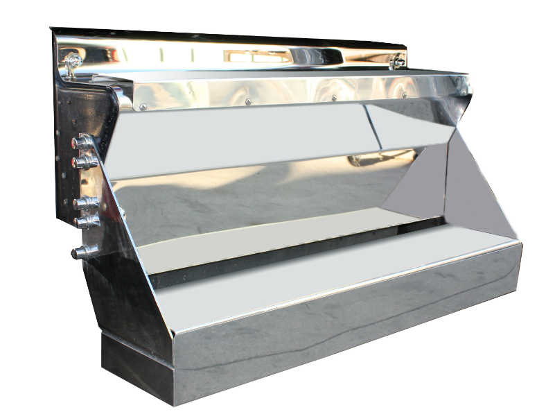 Kenworth W900 Stainless Steel Tool Box Assembly
