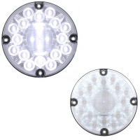 "7"" Round 20 LED Round Back-Up Light"