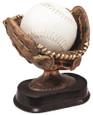 Resin Bronze Softball Glove 6''