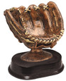 Resin Bronze Baseball Glove 5''