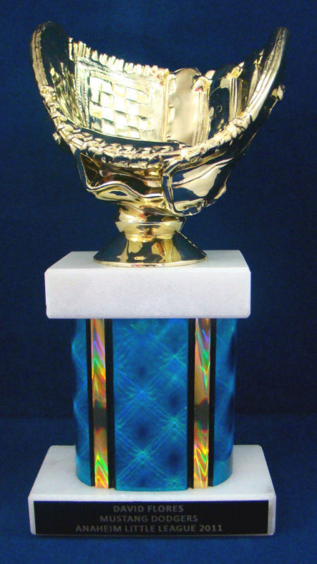 "Baseball//Softball 13/"" Trophy Free Engraving"