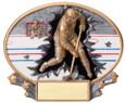 Explosion Ovals Hockey - Free Engraving