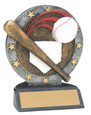 "All Star Resin Series Baseball - 4.5"" Free Engraving"