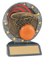 "All Star Resin Series Basketball - 4.5"" Free Engraving"
