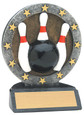 "All Star Resin Series Bowling - 4.5"" Free Engraving"