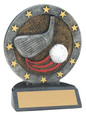 "All Star Resin Series Golf - 4.5"" Free Engraving"