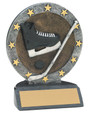 "All Star Resin Series Hockey - 4.5"" Free Engraving"