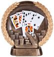 Sunburst Resin Series Poker Hand - Free Engraving