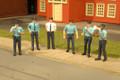 Bachmann HO Scale Police Set