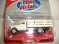 Classic Metal Works - HO Scale 41/46 Chevy Stake Bed Truck Green Giant Growers #30352