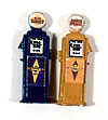 JL Innovative HO Scale Custom Gas Pumps Pre-painted and labeled Deluxe Sunoco #588