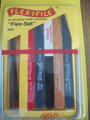 Flex-I-File Flex Set for Complete Finishing includes Flex-I-Files, Flex-Pad and polisher