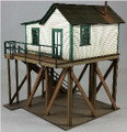 GC Laser HO-SCALE Office for Ice Shed and Platform Kit #19102
