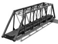Central Valley HO Scale 150 ft Pratt Truss Single Track Bridge Kit #1902