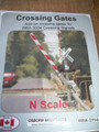 Osborn Model Kits N Scale Crossing Gates RRA-3114