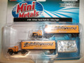Classic Metal Works N Scale '54 Ford Trailer Set Yellow Freight 2 pack #51164