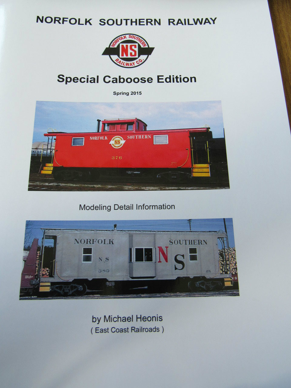 Norfolk Southern railway Special Caboose Edition Spring 2015
