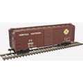 Atlas Trainman HO Scale 1937 AAR 40' Box Car Kit Original Norfolk Southern #25634