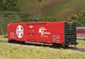 Atlas HO Scale Bx-177 60ft Insulated Box Car Santa Fe 621777