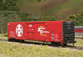 Atlas HO Scale Bx-177 60ft Insulated Box Car Santa Fe 621952