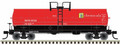 Atlas HO Scale 50ft 11,000 gallon Tank Car PPG SHPX 3536