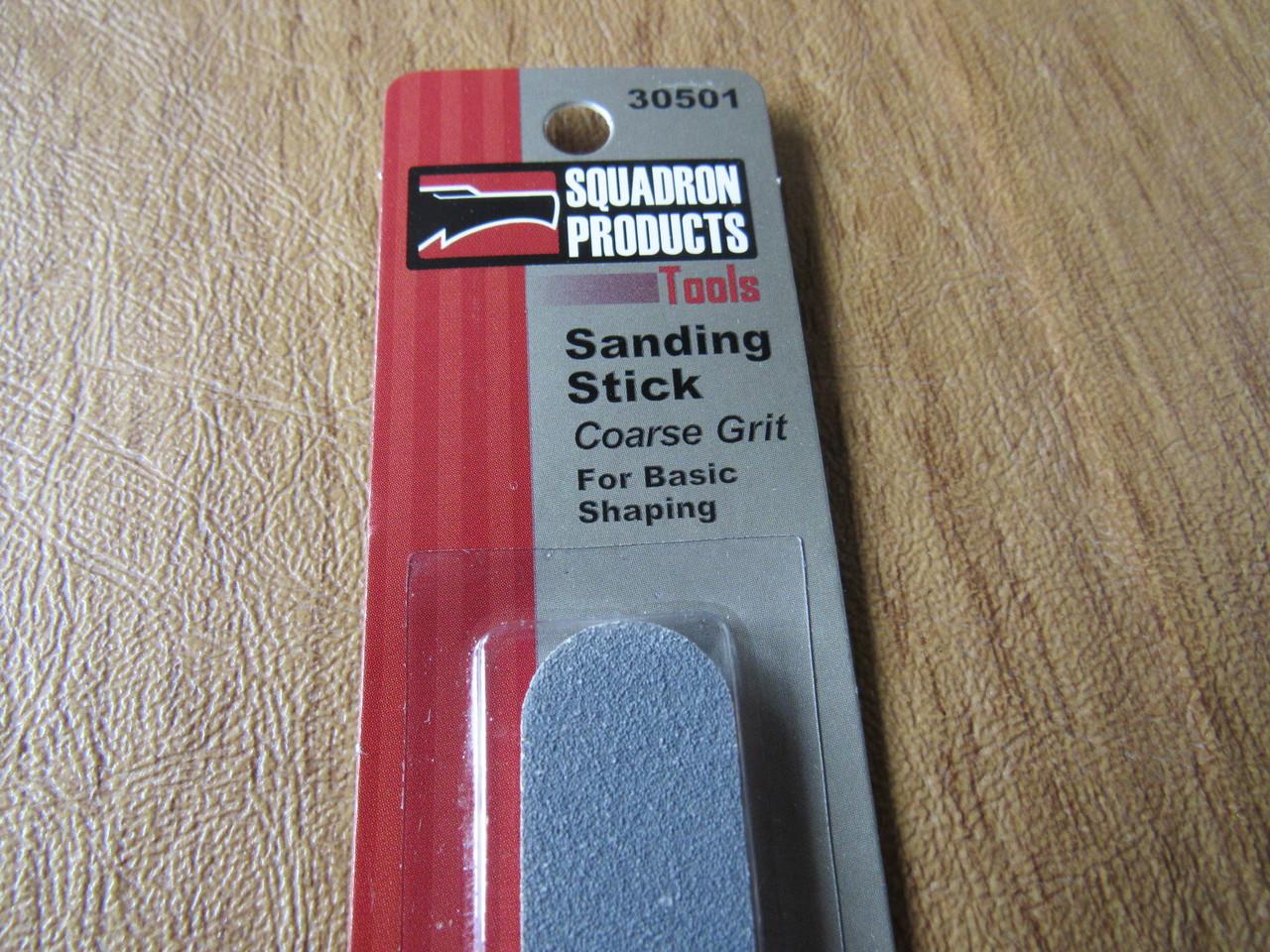 Coarse grit. Squadron tools 30501 sanding stick