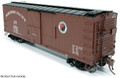 Rapido HO Scale NP 10000 series DS Box Car 1945's Small Monad  #11237