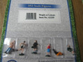 Bachmann HO Scale People at Leisure Figures (6)  42339